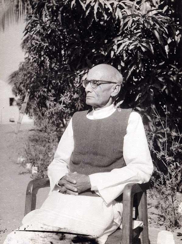 Dada Dharmadhikariji at Lokbharti  - Lokbharti Gallery