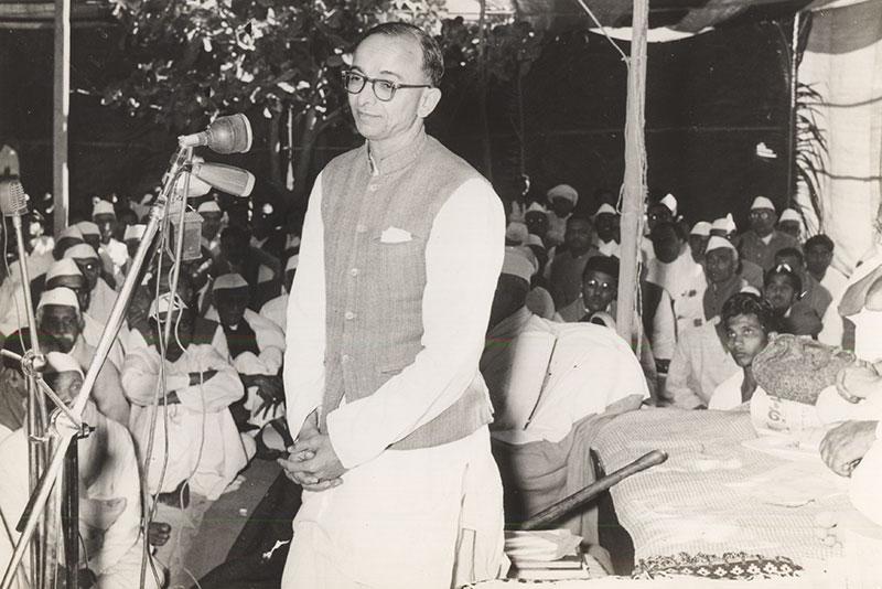 Umashankar Joshi at Opening of Lokbharti  - Lokbharti Gallery