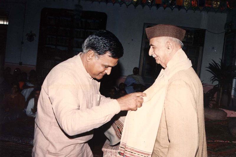 P.C. Vaidya in Lecture Series at Lokbharti  - Lokbharti Gallery