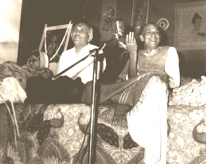 Acharya Kriplani in Lecture Series at Lokbharti   - Lokbharti Gallery
