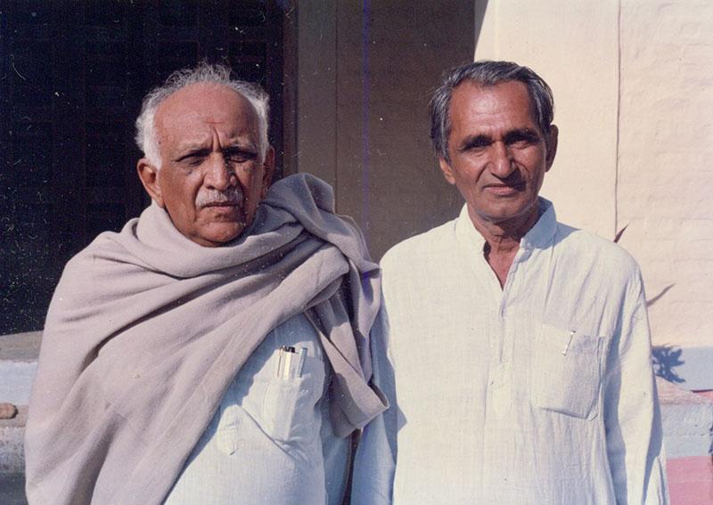 Manubhai Pancholi and Anilbhai Bhatt - Lokbharti Gallery